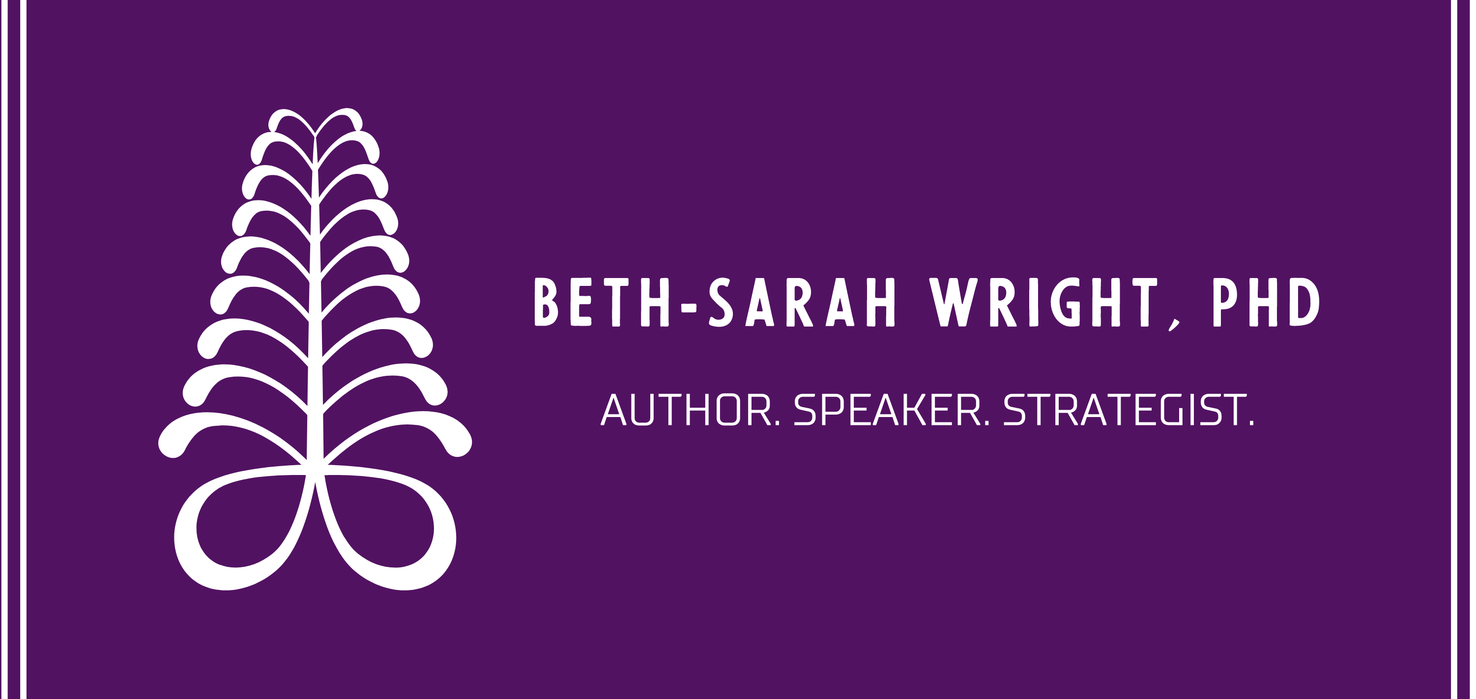 Dr. Beth-Sarah Wright